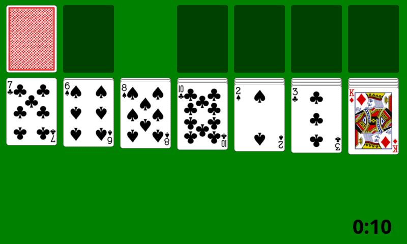 Card Game - Solitaire- screenshot