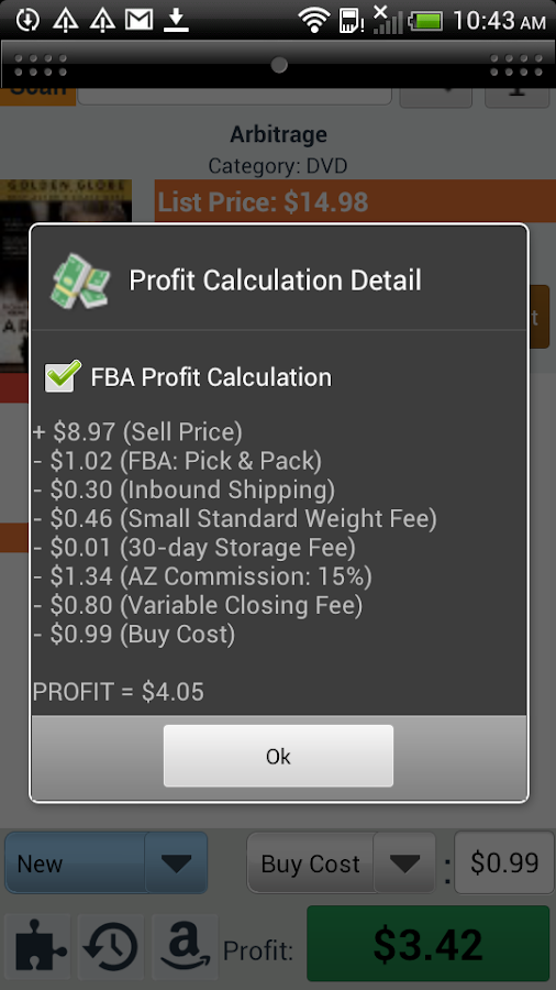 Profit Bandit - Sell on Amazon - screenshot