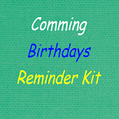 Birthdays Reminder