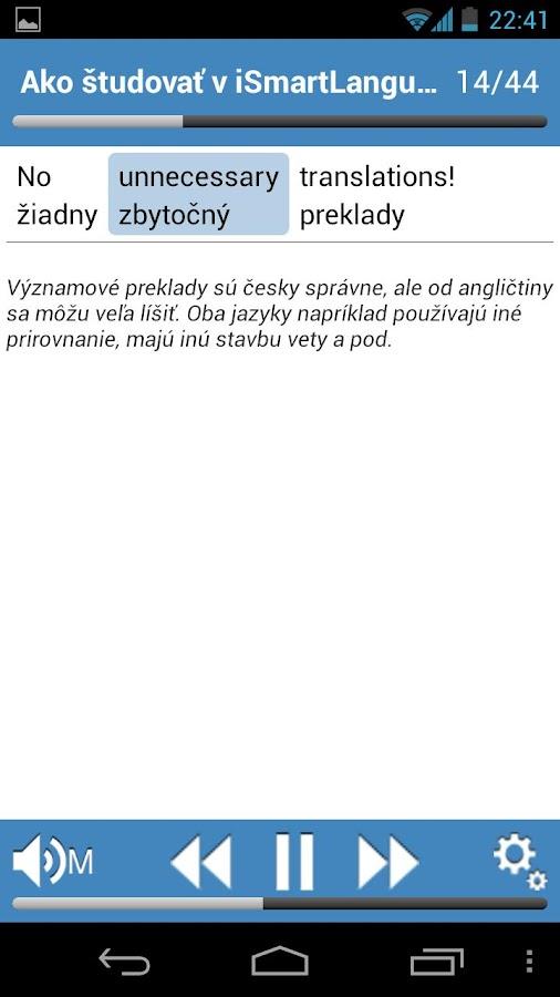 Angličtina PREMIUM SK - screenshot