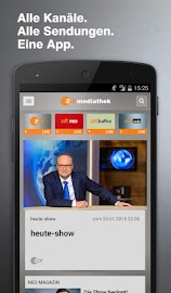 ZDF-App Screenshot 1