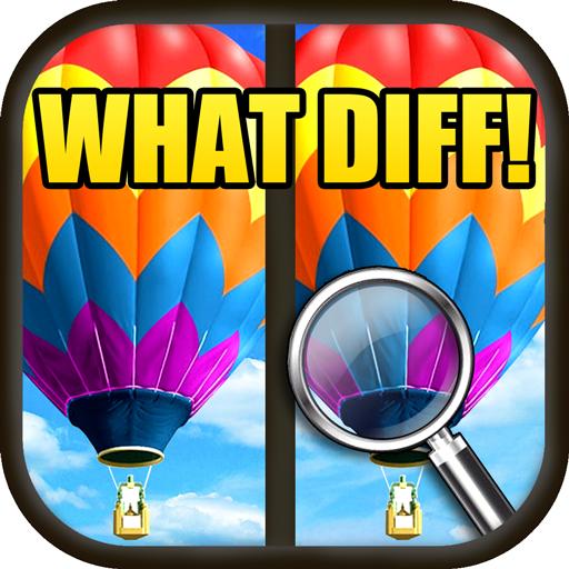 美國第一的找茬遊戲 What Diff HD LOGO-APP點子
