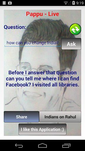 Ask Rahul Gandhi Anything- lol