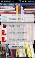 Screenshot of Apps - Quizzes & Trivia