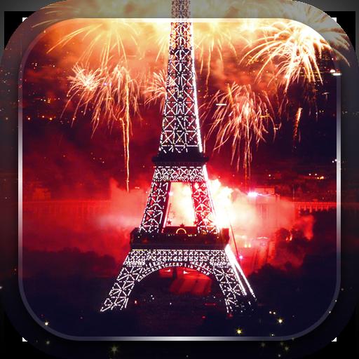 埃菲爾鐵塔焰火 個人化 App LOGO-APP開箱王
