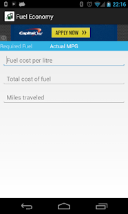 Fuel Economy- screenshot thumbnail