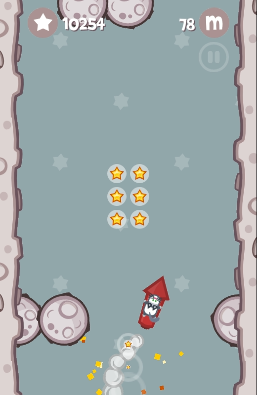 Bunny Goes Boom! Flying Game🚀- screenshot