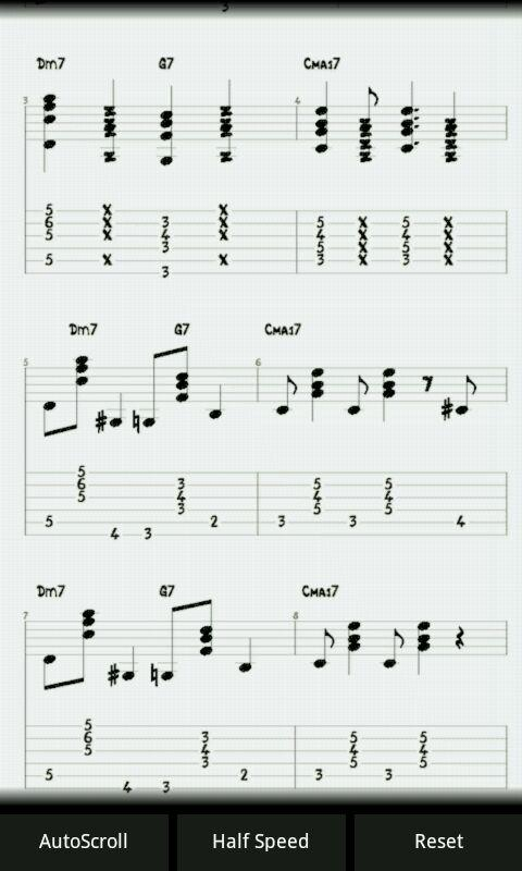 Jazz Guitar Lessons : E-Jazz - screenshot
