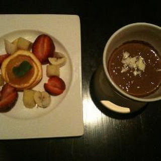 Simple Chocolate Fondue