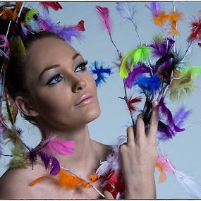 Feathered by Bhong Sangalang - People Fashion ( fashion, portrait )