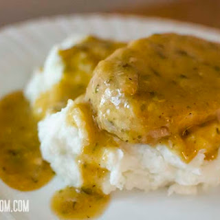 Crock Pot Ranch Pork Chops.