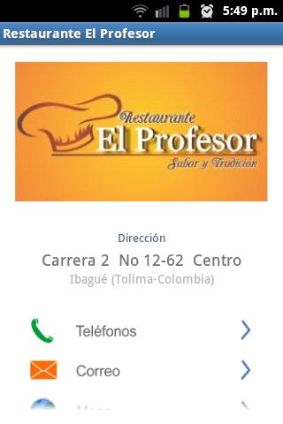 Restaurante El Profesor Ibagué