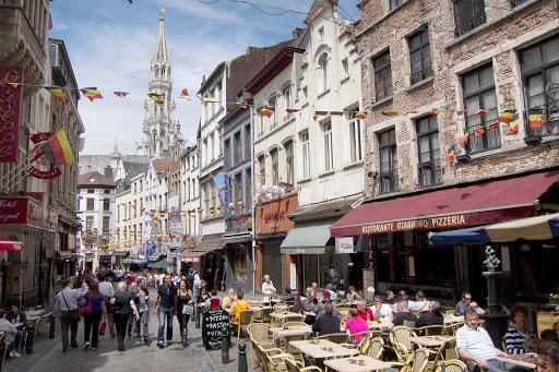 cafe-brussels-belgium - Cafes in Brussels, Belgium.