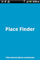 Screenshot of Quick Place Finder