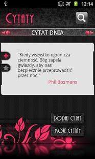 Cytaty- screenshot thumbnail