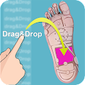 Drag&Drop Reflexology (foot)