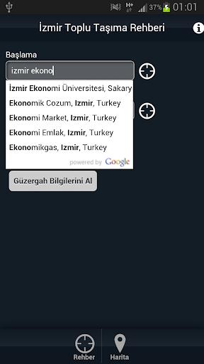 【免費交通運輸App】İzmir Toplu Taşıma Rehberi-APP點子