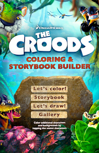 The Croods Coloring Storybook