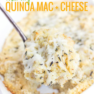 Rosemary Quinoa Mac and Cheese