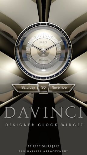 DAVINCI Luxury Clock Widget