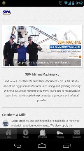 Stone Crusher Machine - SBM