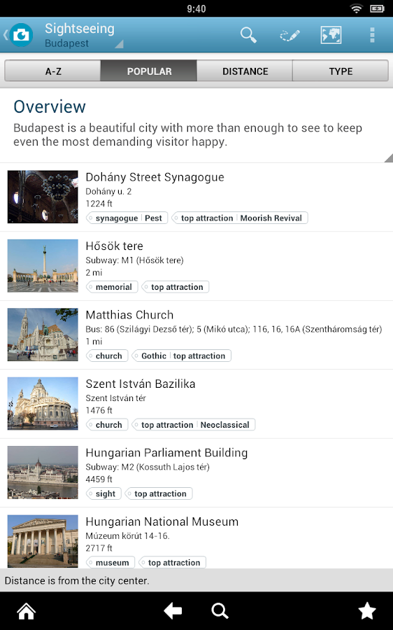 Budapest Travel Guide - screenshot