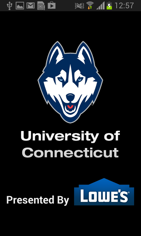 UConn Athletics - screenshot