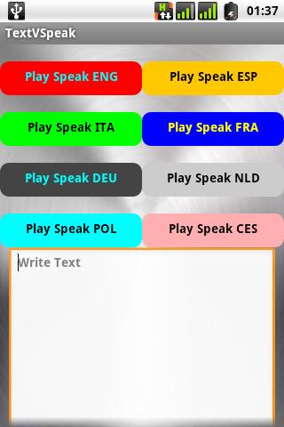 Text V Speak