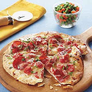 Thin-Crust Turkey Pepperoni Pizzas