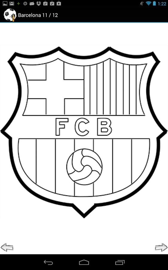 Fc barcelona logo drawing for Draw my logo