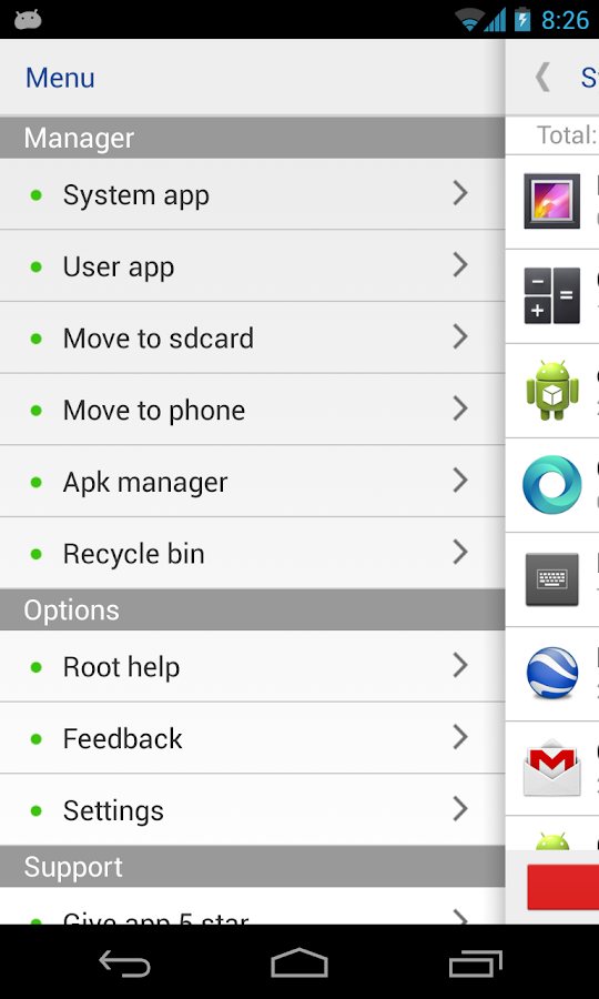 System app remover (ROOT)- screenshot