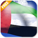3D UAE Flag Live Wallpaper icon