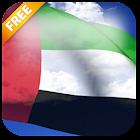 3D UAE Flag Live Wallpaper icon