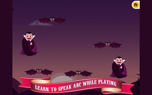 【免費教育App】Halloween Dracula ABC FREE-APP點子
