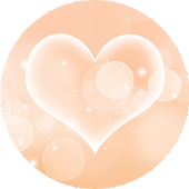 Peach Hearts – Live Wallpaper