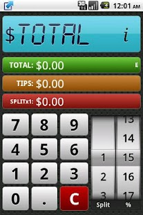 Tipper - Tip Calc- screenshot thumbnail