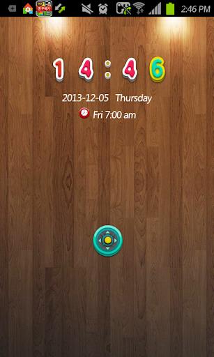 Button go locker theme