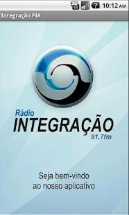 Integração FM - náhled