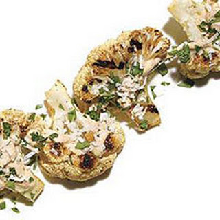 Cauliflower with Spicy Lime Cream