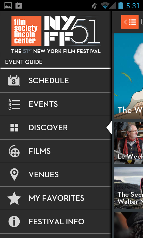 51st New York Film Festival - screenshot