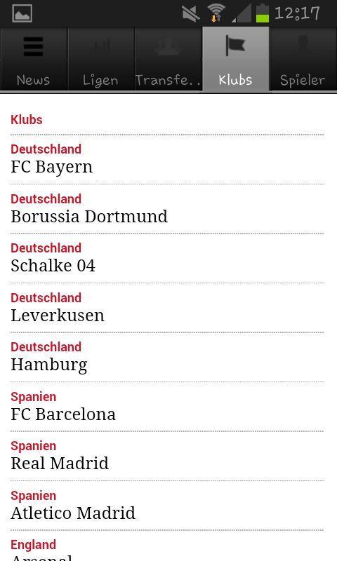 Fussball Europa - screenshot
