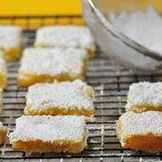Lemon Bars Recipe & Video.