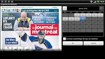 Screenshot of Journal de Montréal - pour HC