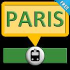 Paris subway icon