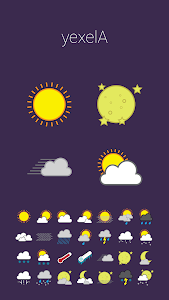 COLOR WEATHER ICONS FOR HDW screenshot 3