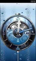 Screenshot of Tia Locker Blue Watch Theme