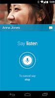 Screenshot of Moto Voice