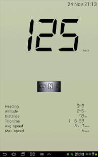 GPS Speedometer Free- screenshot thumbnail