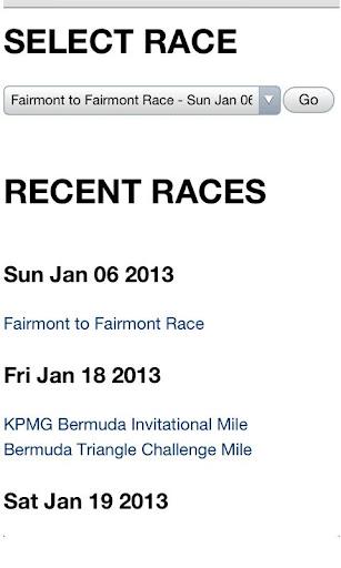 Bermuda Race Results