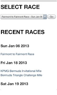 Bermuda Race Results - screenshot thumbnail